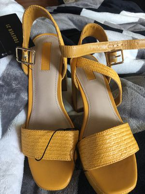 BRAND NEW FOREVER 21 5.5. SHOES for Sale in Fountain Valley, CA