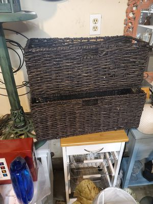 New folding baskets brand new for Sale in Rancho Cucamonga, CA