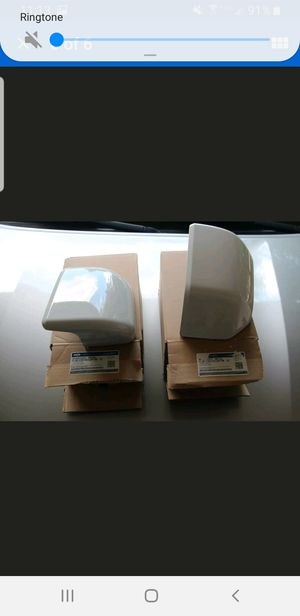 Oxford White YZ 2015 - 2019 Ford F-150 OEM Mirrors Covers Caps Left and Right for Sale in Austin, TX