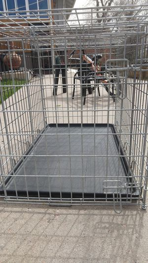 Metal Large dog crate for Sale in Denver, CO