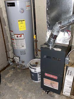 Furnace N Hot Water Tank for Sale in Detroit,  MI