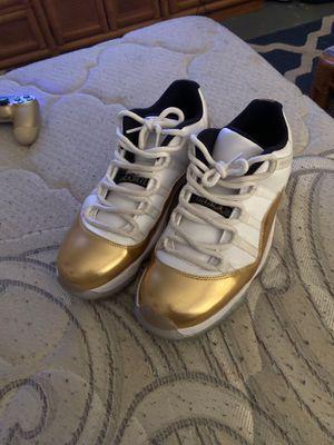 Jordan 11 lows-gold for Sale in Boca Raton, FL