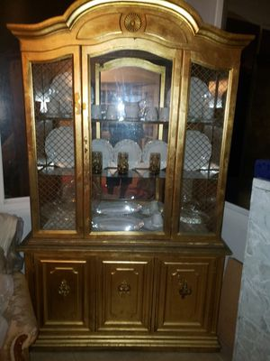 Antique furniture with gold leaf for Sale in Anaheim, CA