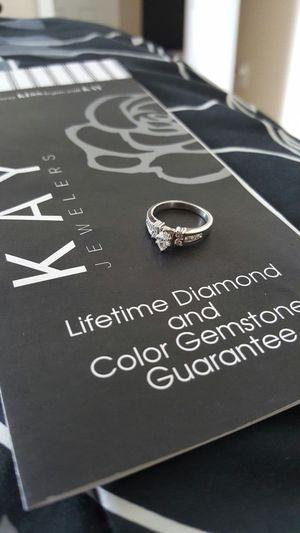 14 karat white gold engagement ring for Sale in Wahneta, FL