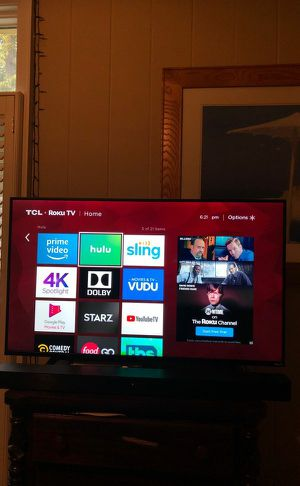 TCL ROKU 4K HD SMART TV !! FOR SALE for Sale in Atlanta, GA