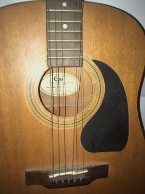 Epiphone Epi six string mahogany acoustic guitar $125 - No Delivery for Sale in South Gate, CA