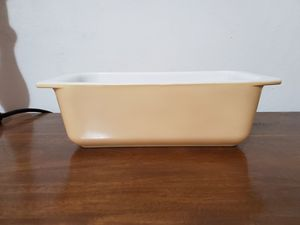 Hard to find earthtone loaf pan pyrex for Sale in Lathrop, CA