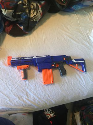 two Nerf guns with bullets for Sale in Stockton, CA