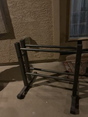 Dumbbell stands for Sale in Goodyear, AZ