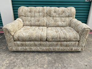 Light tan small couch just $25 for Sale in Dallas, TX