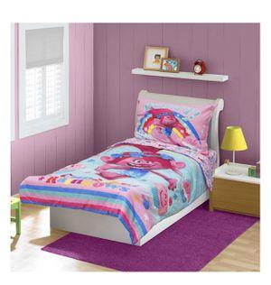 Trolls POPPY 4 Piece Toddler Bedding // BRAND NEW for Sale in Downey, CA