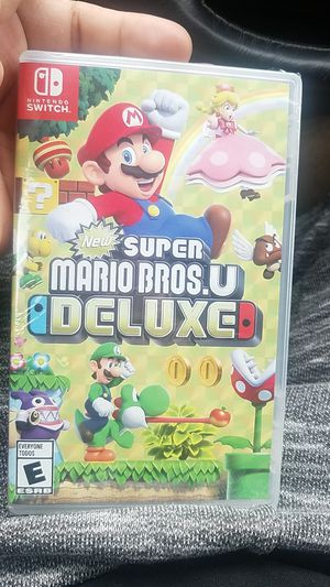 Brand new Super Mario Bros Deluxe for switch for Sale in St. Louis, MO