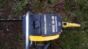 McCulloch Mac 10-10 Chainsaw for Sale in Lake Stevens, WA