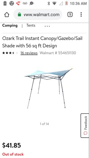 Ozark trail sail shade for Sale in Fort Worth, TX