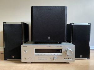 Yamaha stereo receiver and surround sound for Sale in Austin, TX