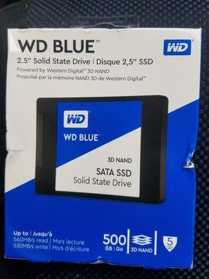 "NEW/ WD Blue/ Sata SSD/ 500 gb/ 2.5"" for Sale in Phoenix, AZ"