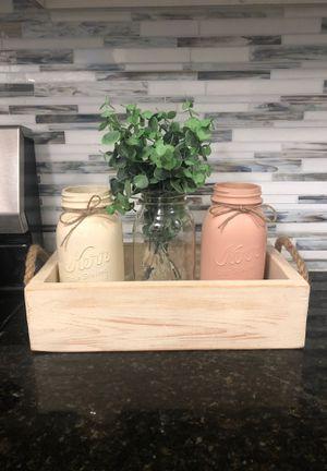 Farmhouse style decor box for Sale in Lakewood, WA