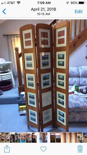 Photo Frame Room Divider for Sale in Sturbridge, MA