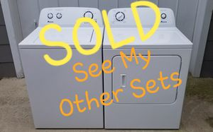 ⭐NICE⭐ Amana Whirlpool 👉Washer Dryer Laundry Set for Sale in Portsmouth, VA
