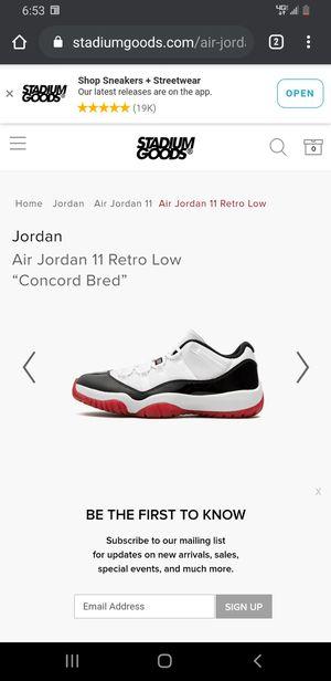 Jordan 11 retro for Sale in Clovis, CA