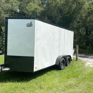 Enclosed Trailer 7x14 Heavy Duty for Sale in Lutz, FL