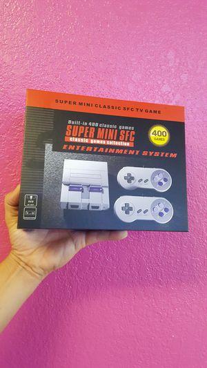 Mini Super Nintendo Built-in 400 GAMES for Sale in Tampa, FL