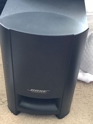 Bose subwoofer and two speakers only for Sale in Lewes, DE
