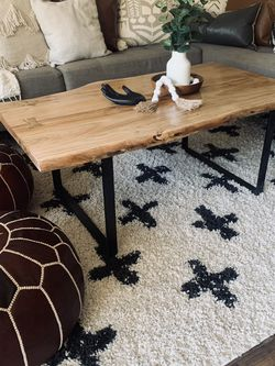Hand Crafted /Raw Edges Coffee Table $300 for Sale in San Diego,  CA