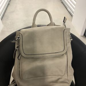 Gray Suede Backpack/Purse for Sale in Powder Springs, GA