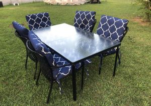 Patio table and chairs for Sale in Burtonsville, MD