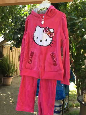 Hello kitty pant set size 5t for Sale in Bassett, CA