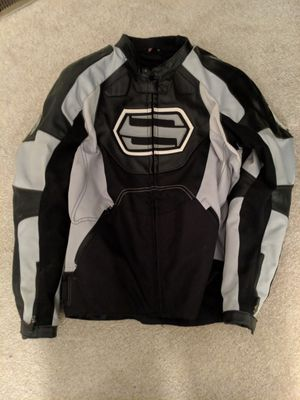 Shift Leather/Textile Motorcycle Jacket Medium for Sale in Sully Station, VA