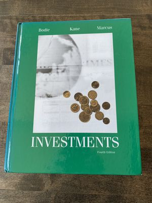 Investments - Bodie, Kane, Marcus - 4th edition hardcover for Sale in Portland, OR
