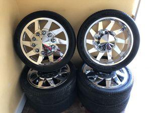"26"" Billet Dually Wheels w/ Tires for Sale in Houston, TX"