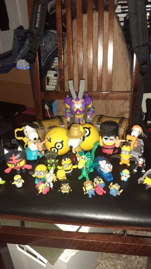 Minions, Pokemon, WWE, Snoopy, etc for Sale in North Las Vegas, NV