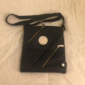 MK leather crossbody messenger handbag for Sale in Lincolnia, VA