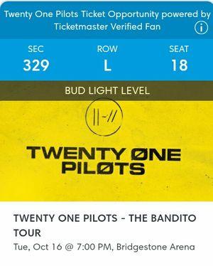 twentyøne pilots tickets for Sale in Nashville, TN