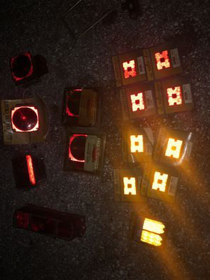 Trailer lights and lenses for Sale in NEW PRT RCHY, FL