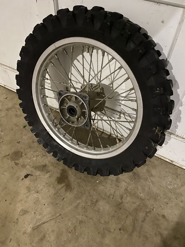 Yz85 Dirt bike back Tire and rim