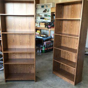 Tall Brown Bookshelves for Sale in Springville, UT