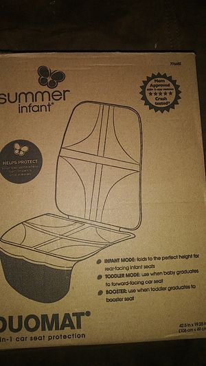 Summer infant 2 in 1 car seat protection for Sale in Cleveland, OH