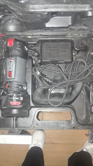Roto zip by bosch for Sale in Indianapolis, IN