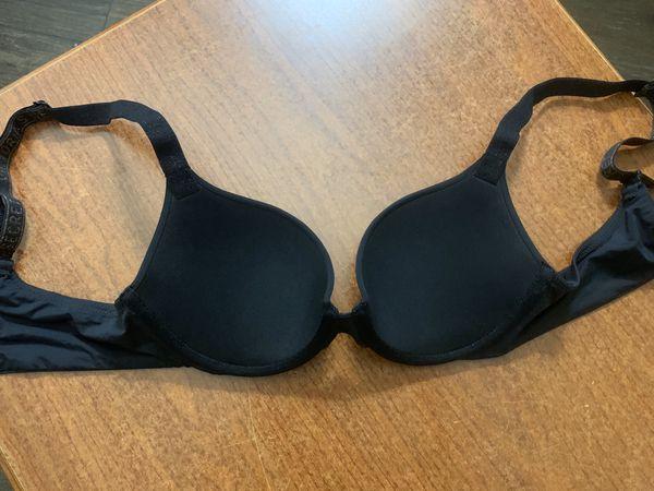 Victoria's Secret black t-shirt push-up bra * NEW WITHOUT TAGS
