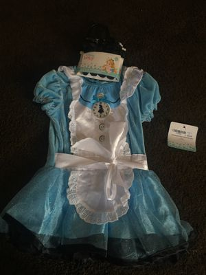 Alice and wonderland infant costume for Sale in Salt Lake City, UT