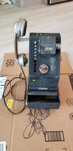 Vintage National Cash Register Stamp Phone for Sale in Silver Spring, MD