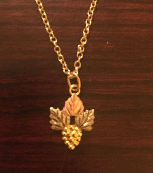 10 KT Black Hills Gold Necklace for Sale in Lancaster, CA