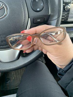 Salvador Ferragamo glasses frames with lens for Sale in College Park, MD