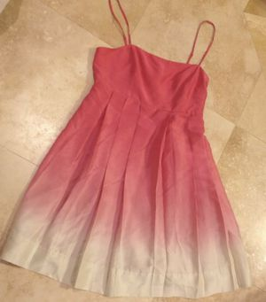 The limited size 0 pink and ivory ombré dress for Sale in Clermont, FL