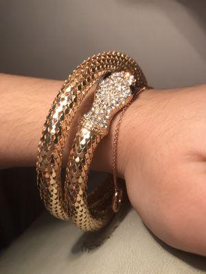 Snake Bracelet BEAUTIFUL PIECE for Sale in Miami, FL