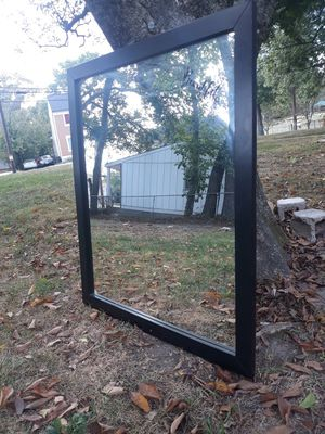 Black Wall Mirror L×40 W×34 for Sale in District Heights, MD